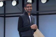 Sundar Pichai, szef Google: większość podatków płacimy w USA.