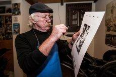 Józef Rakoczy właśnie świętował pięćdziesiąt lat w branży drukarskiej.
