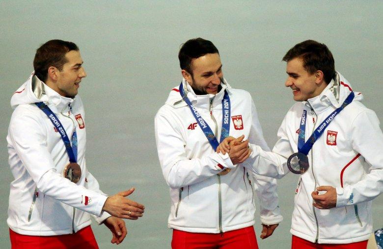 Polscy łyżwiarze szybcy na podium Igrzysk Olimpijskich w Soczi