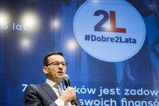 Mateusz Morawiecki podsumował dwa lata rządów gabinetu Beaty Szydło. Tak dobrze jeszcze nie było.