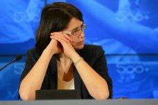 Niby drobna wpadka, ale przysporzyła minister Streżyńskiej bólu głowy.