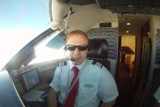 Marcin Wenta to pilot z powołania. Od zawsze pociągała go odpowiedzialność w tym zawodzie.