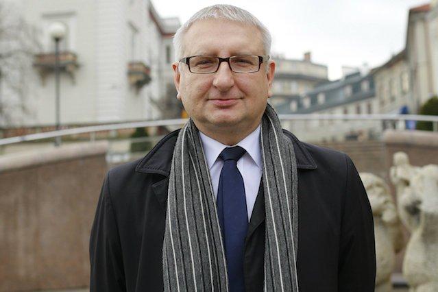 Poseł Stanisław Pięta.