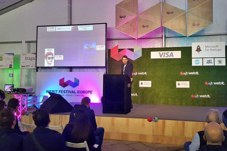 Prezentacja rozwiązania Adquesto na konferencji technologicznej Webit w Sofii (Bułgaria)