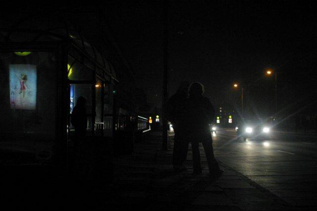 Warszawa pogrążona w ciemnościach po awarii prądu