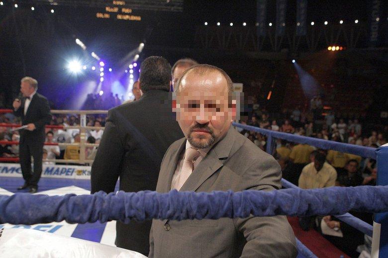 Bogusław B. w 2007 roku - angażował się wtedy w organizację walk bokserskich Gołoty i Adamka