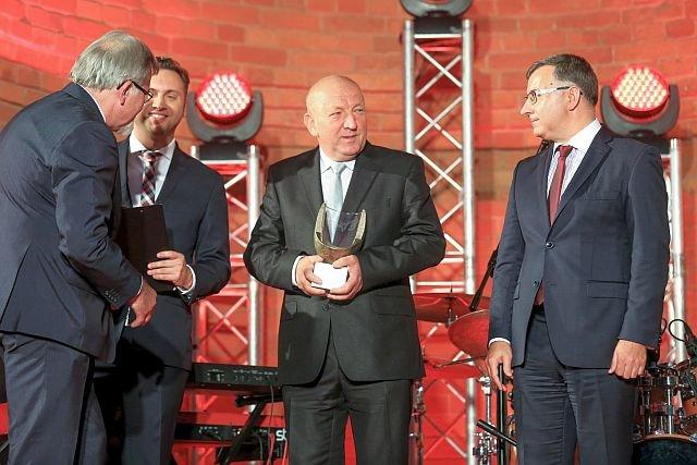 Ryszard Florek z nagrodą Przedsiębiorcy Roku