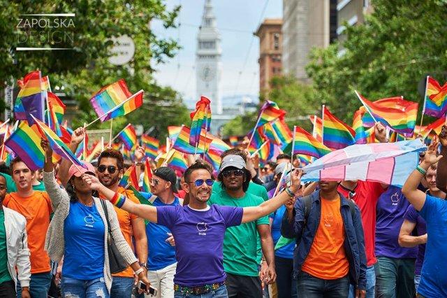 SFPride 2017, Marsz Równości San Francisco