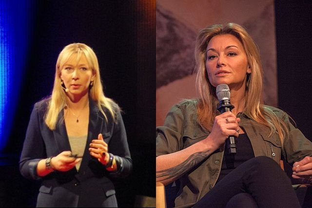 Aleksandra Przegalińska i Martyna Wojciechowska