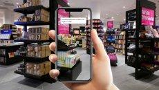 Aplikacja Shopfitting pozwala stworzyć wirtualną wizualizację wystroju sklepu.
