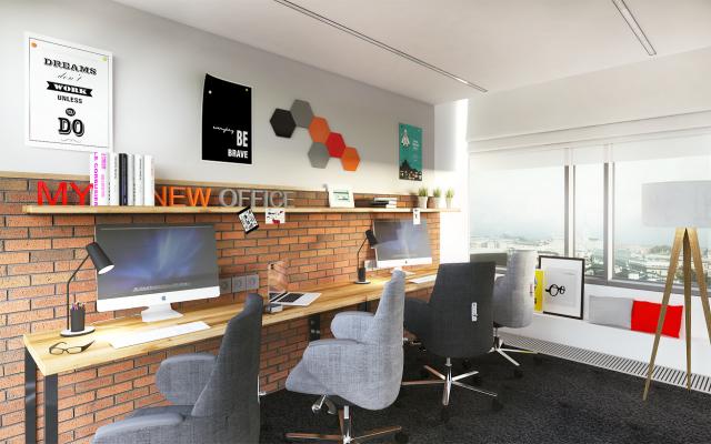 Biuro w Business Link Zebra