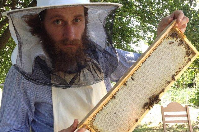 """Nie planował kariery, nie zabiegał o pieniądze, ale zarabia na swojej pasji - pszczelarstwie. """"To dziś bardzo modne, w korporacjach, hotelach"""""""