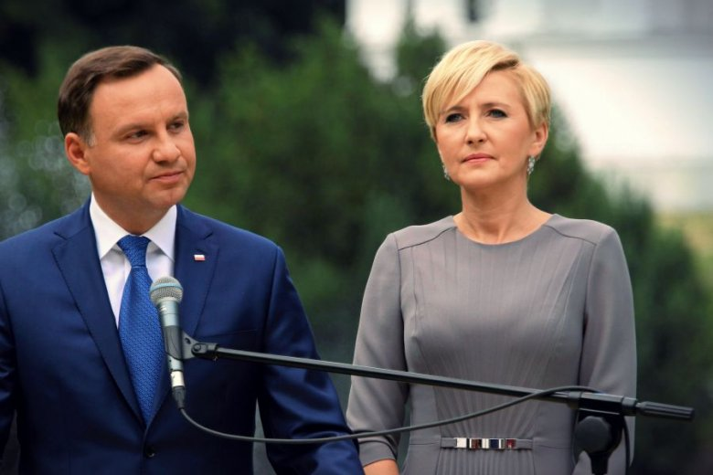 9eb204f87c Polski Mediolan. Modesta - ubrania polskiej marki nosi Agata Duda ...
