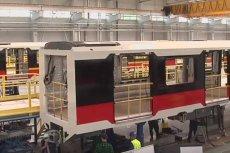 Wagony w metrze w Sofii będą niemal identyczne z tymi które kursują w Warszawie.
