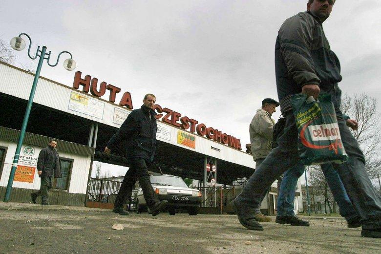 Pracownicy Huty od dłuższego czasu nie dostają wypłat