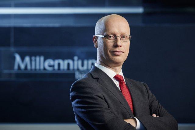 Marcin Balicki, Prezes Zarządu Millennium Leasing