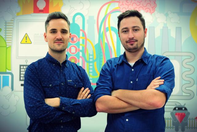 Tomasz Muter i Wojciech Szwajkiewicz - twórcy Droids On Roids