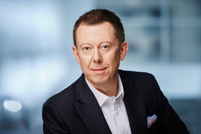 Przemysław Gdański, prezes BGŻ BNP Paribas. Po połączeniu z Raiffeisen Polbank, powstanie megabank.
