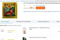 """Plastry, których składnikiem mają być """"sproszkowane kości tygrysa"""", można z łatwością znaleźć w polskim internecie."""