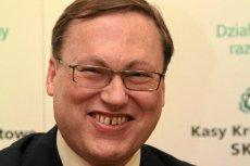 Grzegorz Bierecki, senator PiS i twórca SKOK-ów, twierdził, że nie chciał zakładać kont w Getin Noble Banku
