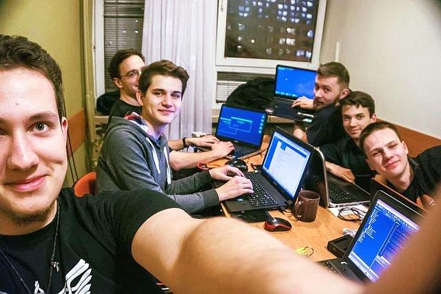 Zespół programistów Solar Boat