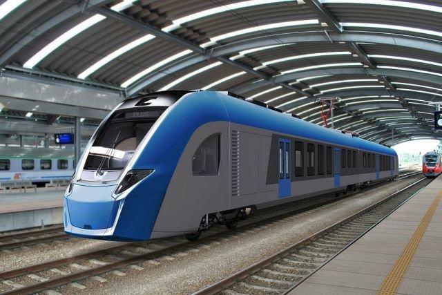 Pociąg Plus ma mieć 800 kW napędu spalinowego, 2,4 MW napędu elektrycznego i zabierać nawet 370 pasażerów