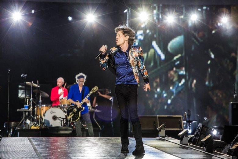The Rolling Stones wystąpili w Warszawie 8 lipca 2018 r. na Stadionie Narodowym