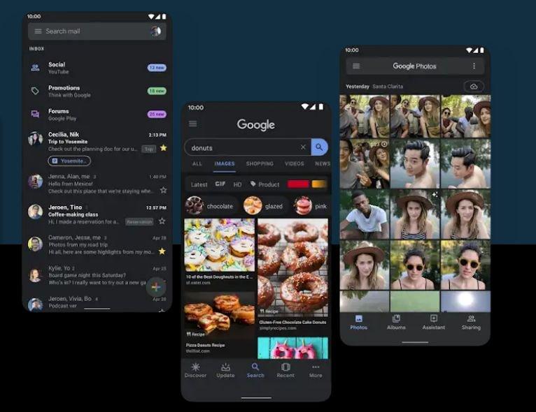 Nowy Android 10 to przede wszystkim ciemny motyw.