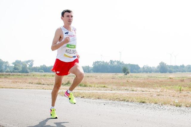 Kozłowski na IO w Rio zajął 39 miejsce w biegu maratońskim. Był najszybszym Polakiem na tym dystansie