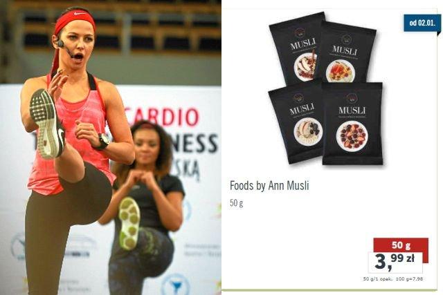 Produkty Foods by Ann są w Lidlu tańsze średnio o 50 groszy za sztukę.