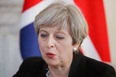 Premier Theresa May. Brexit w pierwszej kolejności uderzy w polskie firmy transportowe, powodując olbrzymie straty, może upadek firm.