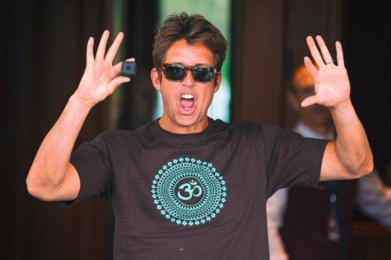Nick Woodman nie wpadłby na GoPro, gdyby nie jego pasja do surfowania.
