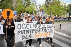 Kiedy nowy strajk nauczycieli? Możliwe, że jeszcze przed wyborami.