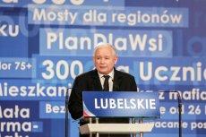 Trzynasta emerytura to pomysł Jarosława Kaczyńskiego