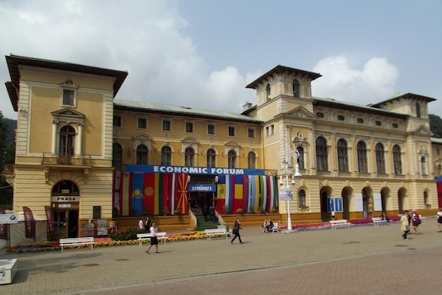 To tu, w Starym Domu Zdrojowym, odbędą się główne wydarzenia Forum Ekonomicznego.
