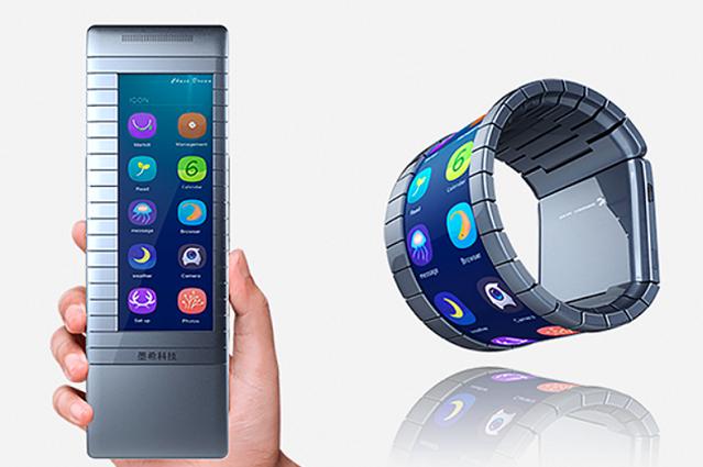 Po co ci smartwatch? Dzieki Moxi będziesz mógł nosić telefon jak zegarek.