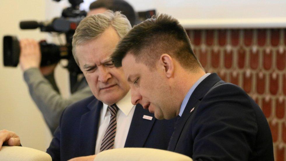 Minister kultury Piotr Gliński: awangarda rewolucji kulturalnej, jaką funduje polskiej kulturze PiS.