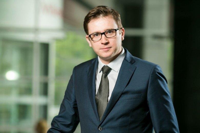 Tomasz Domagalski, prezes polskiego oddziału Finiaty, która specjalizuje się w finansowaniu wierzytelności za faktury wystawiane przez firmy z sektora MŚP