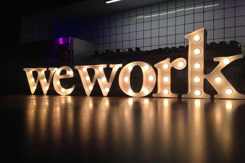 Planowane wejście WeWork na giełdę zostało przesunięte.
