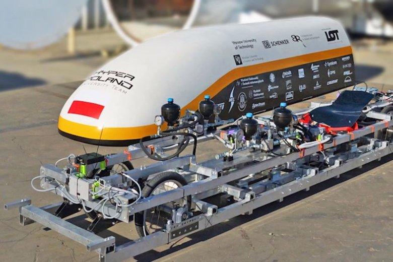 Polska firma planuje zbudować prototyp szybkiej kolei magnetycznej, który będzie poruszał się po zwykłych torach
