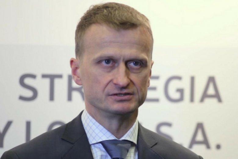 Prezes Marcin Jastrzębski.