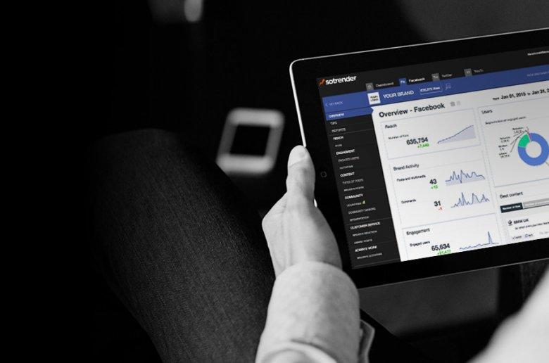 Sotrender to narzędzie do mierzenia obecności marki w mediach społecznościowych.