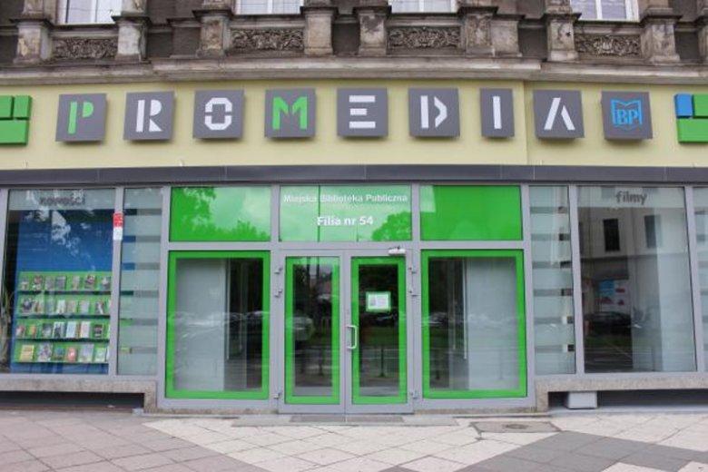 Siedziba ProMedia, nowoczesnej filii Miejskiej Biblioteki Publicznej w Szczecinie