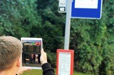 Rozszerzona rzeczywistość na przystankach w Gdańsku