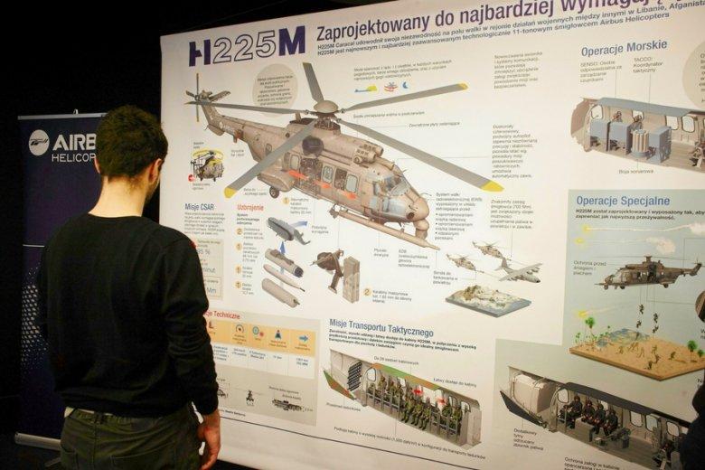 Targi pracy organizowane przez firmę Airbus Helicopters.