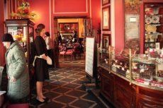 Wnętrze restauracji Wedla