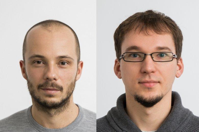 Maciej Ołpiński i Greg Kapkowski, współzałożyciele Userfeeds.