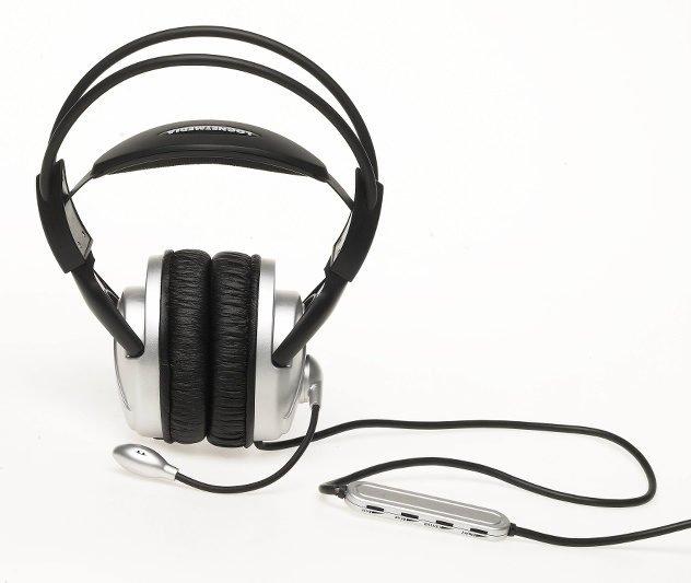 Muzyka w słuchawkach nie powinna przeszkadzać współpracownikom.