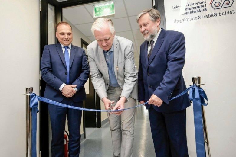 Otwarcie laboratorium Instytutu Ceramiki i Materiałów Budowlanych. Wbrew pozorom, pod względem innowacji Polska znajduje się w ogonie Europy.