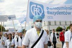 Protest lekarzy we Wrocławiu